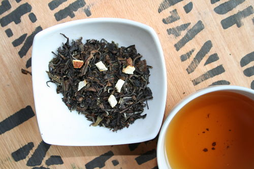 Nr. 619 top superior fancy finest Formosa Oolong mit Orange - halbfermentierter Tee